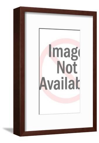 Blue King-Pop Ink - CSA Images-Framed Art Print