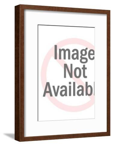 Grey Robot Walking-Pop Ink - CSA Images-Framed Art Print