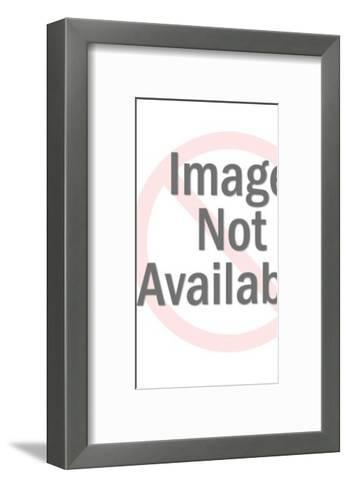 Red Alien-Pop Ink - CSA Images-Framed Art Print