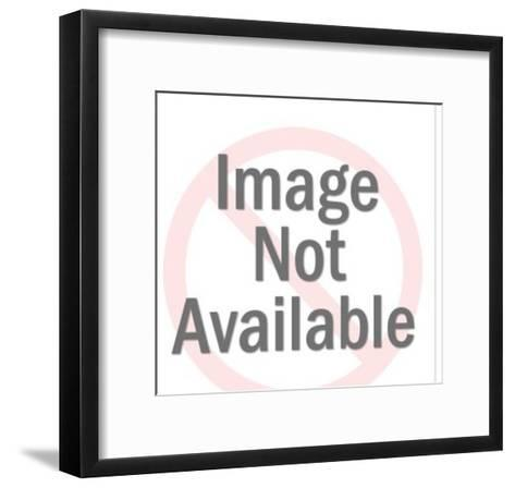 Man in Purple Hat-Pop Ink - CSA Images-Framed Art Print