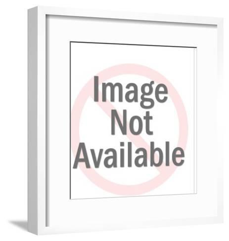 Astronaut and Final Inspection Slip-Pop Ink - CSA Images-Framed Art Print