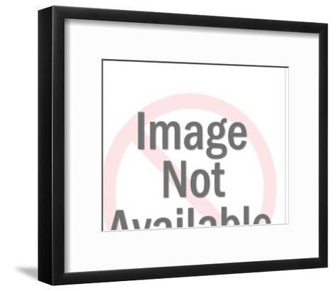 Red Space Gun-Pop Ink - CSA Images-Framed Art Print
