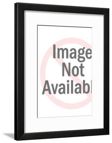 Red Devil Mask-Pop Ink - CSA Images-Framed Art Print