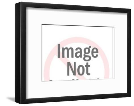 Blue Ray Gun-Pop Ink - CSA Images-Framed Art Print