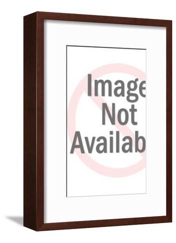 Silver Tiki Figure-Pop Ink - CSA Images-Framed Art Print