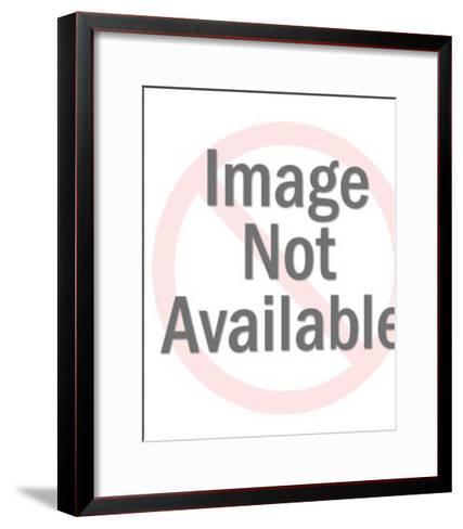 Pale Astronaut Mask-Pop Ink - CSA Images-Framed Art Print