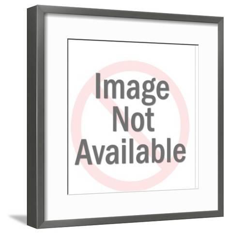 Gold Space Gun-Pop Ink - CSA Images-Framed Art Print