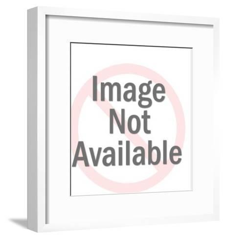 Jackolope on Wood Mounting-Pop Ink - CSA Images-Framed Art Print