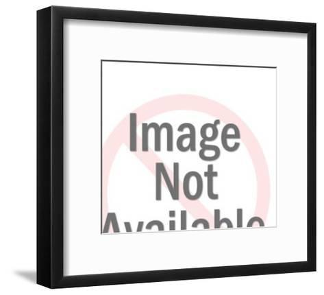 Pink Pig Side View-Pop Ink - CSA Images-Framed Art Print