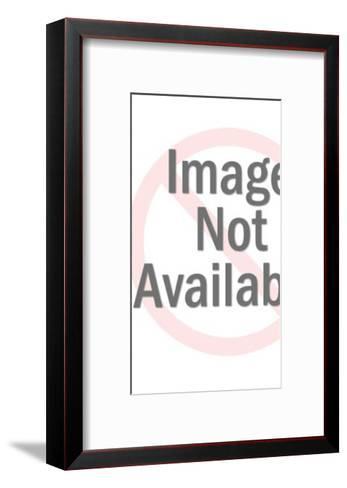 Plastic Santa Claus Head-Pop Ink - CSA Images-Framed Art Print