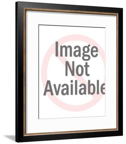 Plastic Toy Monkey-Pop Ink - CSA Images-Framed Art Print