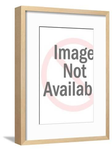 Angel Kneeing-Pop Ink - CSA Images-Framed Art Print