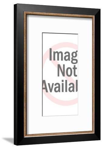 Female Surfer-Pop Ink - CSA Images-Framed Art Print