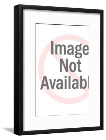 Big Eyed Cat-Pop Ink - CSA Images-Framed Art Print