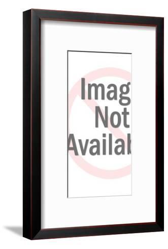 Tiger on Back Legs-Pop Ink - CSA Images-Framed Art Print