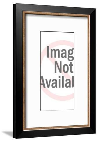 Woman Wearing Pink Pantsuit-Pop Ink - CSA Images-Framed Art Print