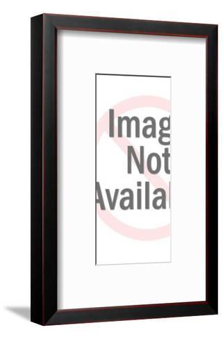 Woman Wearing All Green-Pop Ink - CSA Images-Framed Art Print