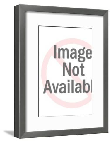 Red Robot-Pop Ink - CSA Images-Framed Art Print