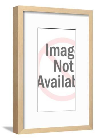 Yellow Astronaut-Pop Ink - CSA Images-Framed Art Print