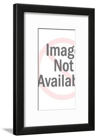 Woman Wearing Blue Top and Pants-Pop Ink - CSA Images-Framed Art Print