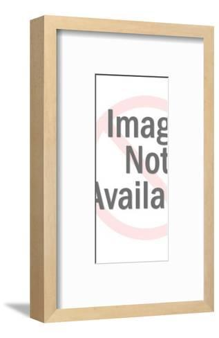 Figurine of a Man-Pop Ink - CSA Images-Framed Art Print