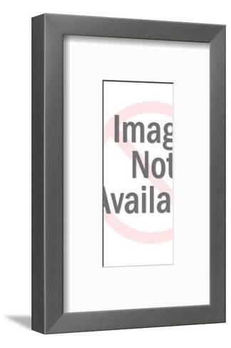 Figurine of a Woman-Pop Ink - CSA Images-Framed Art Print