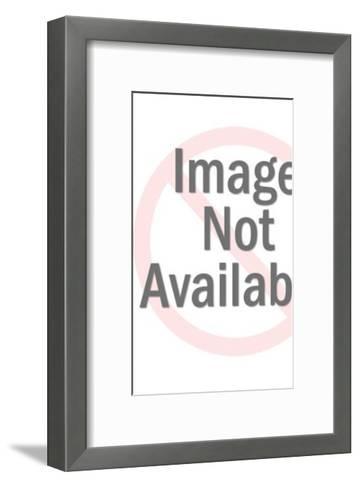 Green and Yellow Robot Coin Bank-Pop Ink - CSA Images-Framed Art Print
