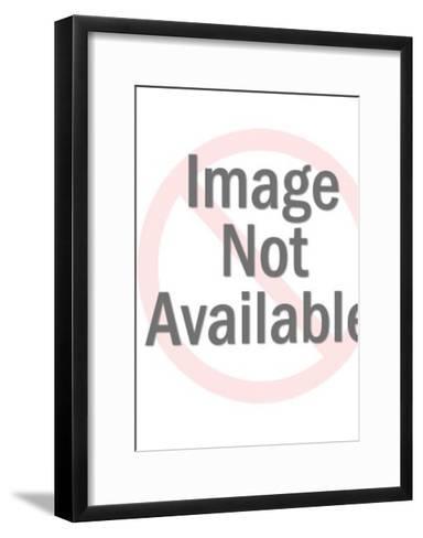 Angel Playing Flute-Pop Ink - CSA Images-Framed Art Print