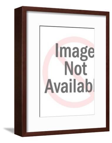 Mummy in Sarcophagus-Pop Ink - CSA Images-Framed Art Print
