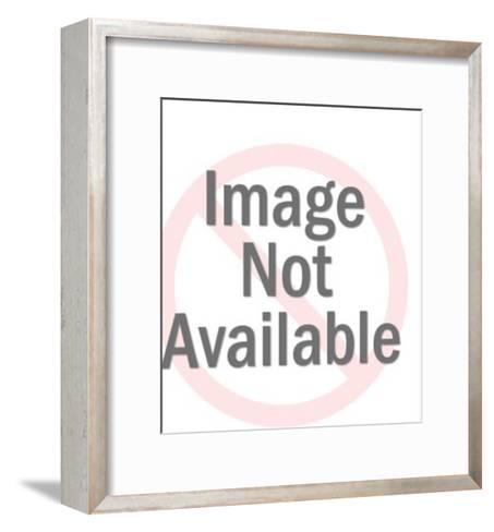 Lion Mask-Pop Ink - CSA Images-Framed Art Print