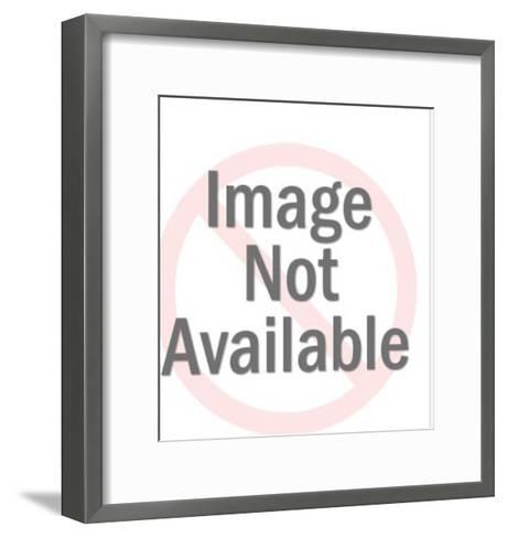 Fortune Teller Mask-Pop Ink - CSA Images-Framed Art Print