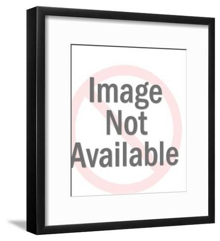 Firefighter Mask-Pop Ink - CSA Images-Framed Art Print
