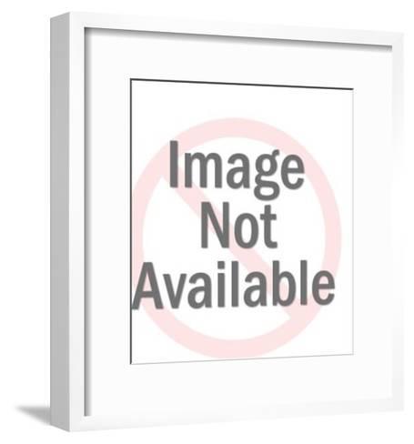 Gorilla Mask-Pop Ink - CSA Images-Framed Art Print