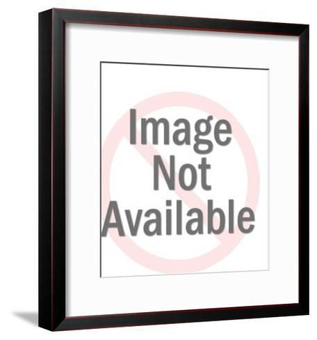 Sailor Using Flags-Pop Ink - CSA Images-Framed Art Print