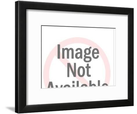 Bear in Front of Trailer-Pop Ink - CSA Images-Framed Art Print