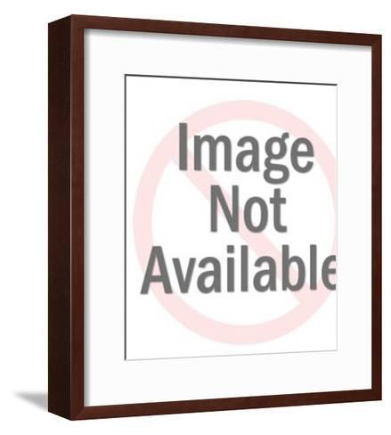 Yellow Rubber Duck-Pop Ink - CSA Images-Framed Art Print