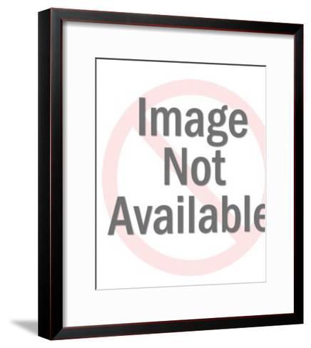 Tiki Drink With Palm Tree Stir Sticks-Pop Ink - CSA Images-Framed Art Print