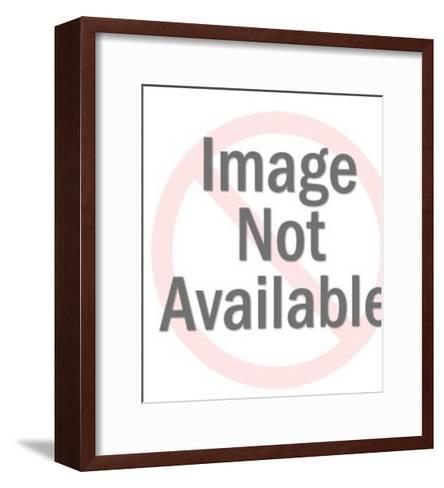 Girl Carrying Bucket-Pop Ink - CSA Images-Framed Art Print