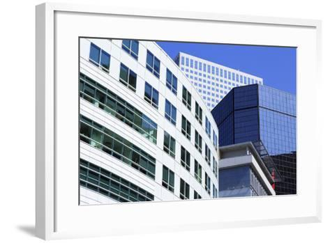 Skyscrapers on Broadway, Denver, Colorado, United States of America, North America-Richard Cummins-Framed Art Print