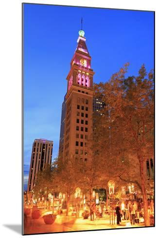 Daniel's and Fisher Tower, 16th Street Mall, Denver, Colorado, United States of America-Richard Cummins-Mounted Photographic Print
