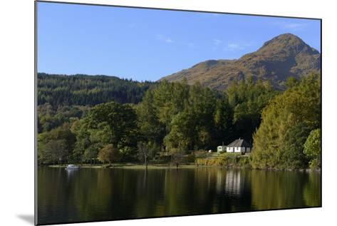 Waterside Cottage, Inveruglas, Loch Lomond, Stirling, Scotland, United Kingdom, Europe-Peter Richardson-Mounted Photographic Print