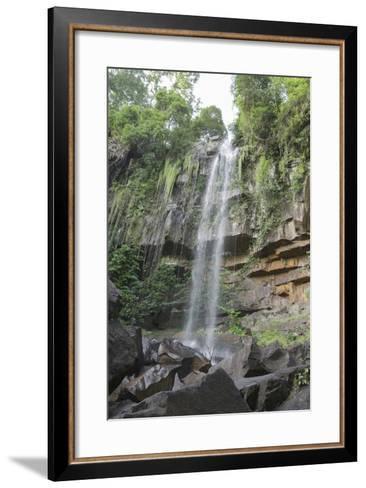 Anlung Samraong Waterfall, Chambok Ecotourism Park, Cambodia, Indochina, Southeast Asia, Asia-Charlie Harding-Framed Art Print