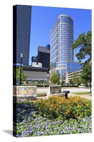 Market Square Park, Houston, Texas, United States of America, North America-Richard Cummins-Stretched Canvas Print