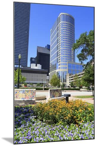 Market Square Park, Houston, Texas, United States of America, North America-Richard Cummins-Mounted Photographic Print