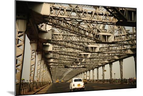 Howrah Bridge, Kolkata, West Bengal, India, Asia-Bhaskar Krishnamurthy-Mounted Photographic Print