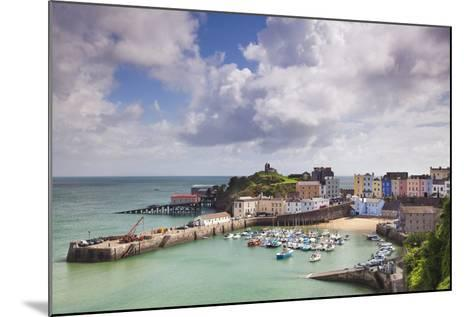 Tenby Harbour, Pembrokeshire, West Wales, Wales, United Kingdom, Europe-Billy Stock-Mounted Photographic Print