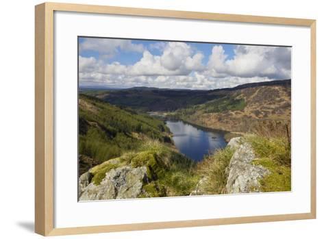 Glen Trool, Seen from White Bennan, Dumfries and Galloway, Scotland, United Kingdom, Europe-Gary Cook-Framed Art Print