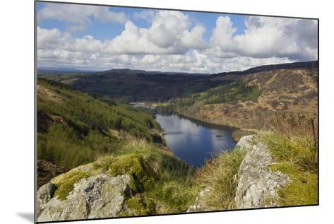 Glen Trool, Seen from White Bennan, Dumfries and Galloway, Scotland, United Kingdom, Europe-Gary Cook-Mounted Photographic Print