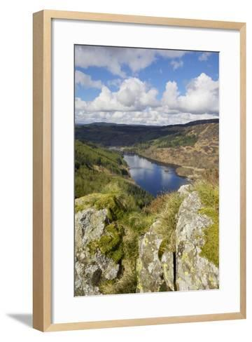 Glen Trool, Seen from White Bennan, Dumfries and Galloway, Scotland, United Kingdom, Europe-Gary Cook-Framed Art Print