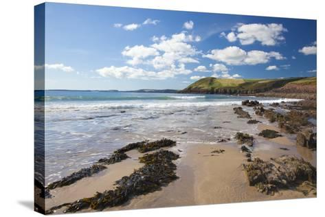 Manorbier, Pembrokeshire, Wales, United Kingdom, Europe-Billy Stock-Stretched Canvas Print